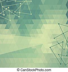 摘要, 背景, 三角形, 三角形