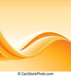 摘要, 色彩丰富, 背景, 波浪