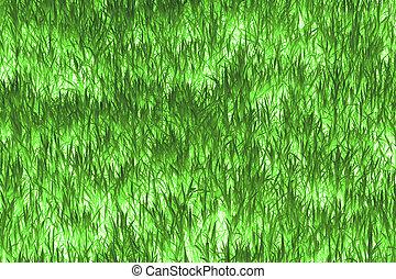 摘要, 草, texture., 背景