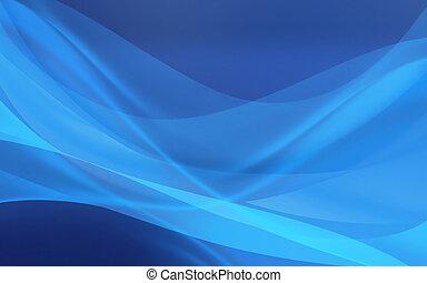摘要, 蓝的背景