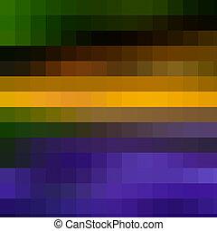 摘要, 馬賽克, 背景, 多种顏色