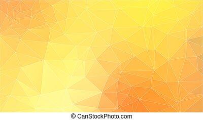 摘要, 黃色的三角形, 背景