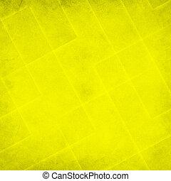 摘要, 黃色的背景