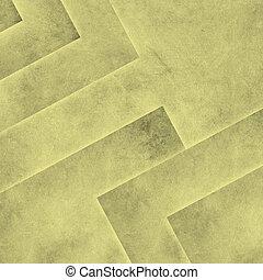摘要, 黄色的背景