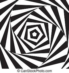 摘要, vector., swirl.