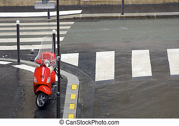 摩托车, 红