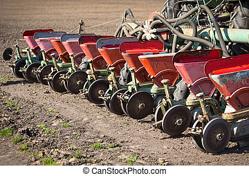 播種, 機器, 關閉