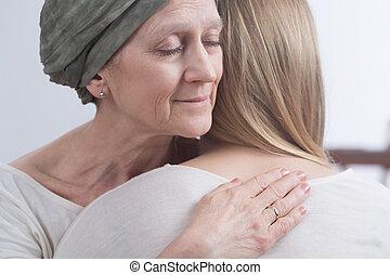擁抱, 充分, ......的, family's, 愛