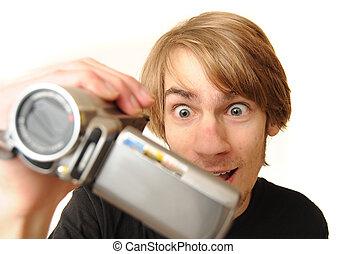 攝像放像机, 成人, 年輕