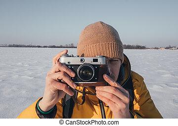 攝影師, 拍照片