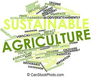 支持できる, 農業