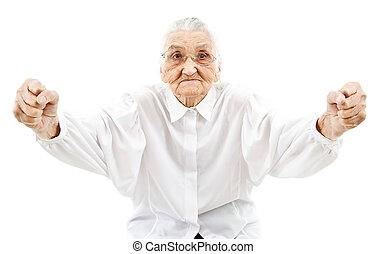 支持者, 祖母