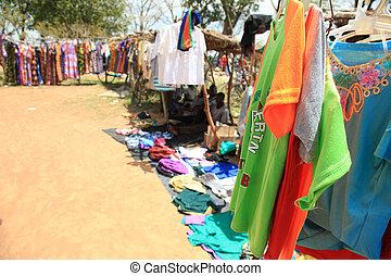 支部, ウガンダ, アフリカ, 市場