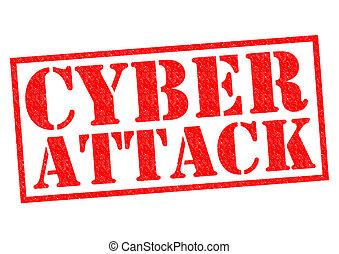 攻撃, cyber