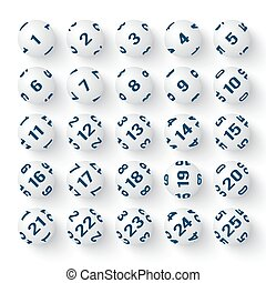 放置, 在中, 现实, 白色, 纸牌的赌博, 球