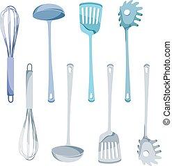 放置, 工具, 厨房