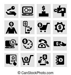 放置, business icon