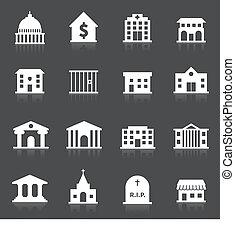 政府の建物, アイコン