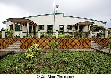 政府の 建物, トウモロコシ, 島, ニカラグア