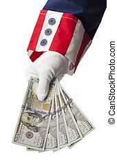 政府, お金, リターン
