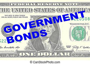 政府, 債券, 概念