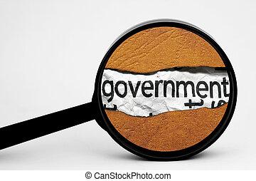 政府, 捜索しなさい