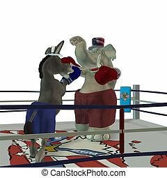 政治的である, ボクシング, 2