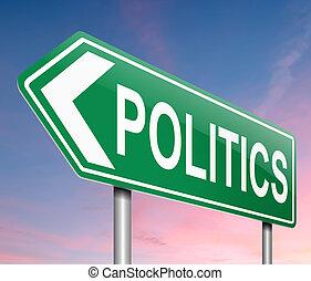 政治, concept.