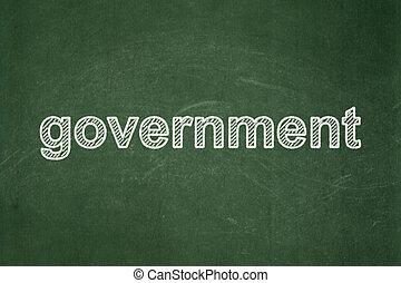 政治, concept:, 政府, 上に, 黒板, 背景