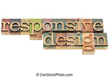 敏感, 設計, 在, 木頭, 類型