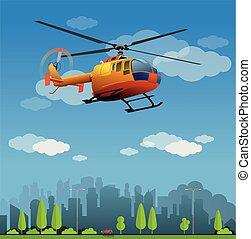 救出ヘリコプター