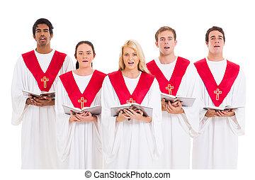 教会聖歌隊, 歌うこと