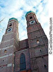 ∥, 教会, の, 私達の, 女性, 中に, ミュンヘン, ドイツ