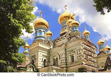 教会, ウクライナ, kiev, 正統