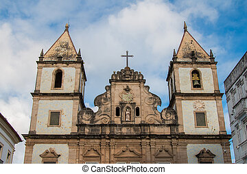 教会, サルバドール, s?o, pelourinho, bahia., francisco