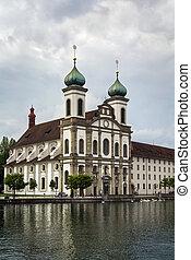 教会, ルツェルン, jesuit