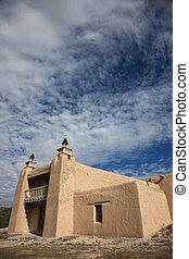 教会, 中に, las, trampas, ニューメキシコ