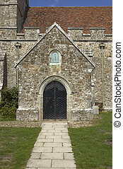 教会, 入口