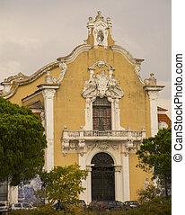 教会, 外面, リスボン
