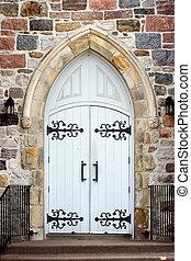 教会, 戸口