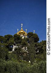 教会, 木, magdalene, マリア