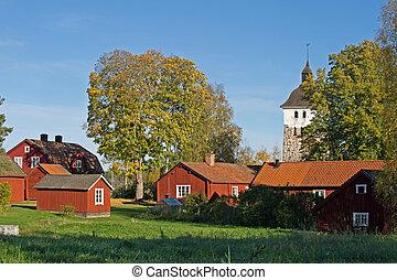 教会, 村