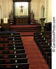 教会, 聖域