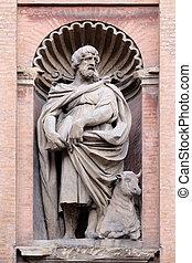 教会, 聖者, ルーク, 伝道師, emilia-romagna., ss., italy., salvatore., ...