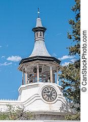 教会, 西, オランダ語, 代表団, reformed, steeple, beaufort