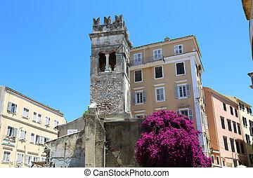 教会, annunziata, belltower