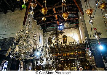 教会, bethlehem, nativity