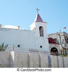 教会, coptic, jaffa, 正統, 2011