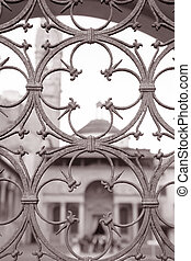 教会, croce, フィレンツェ, santa