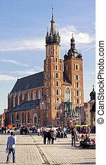 教会, mary, st. 。, ポーランド